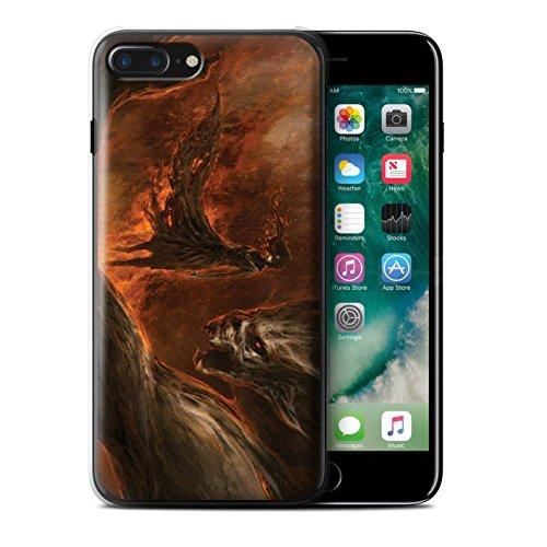Offiziell Chris Cold Hülle / Case für Apple iPhone 7 Plus / Zeriel das Licht Muster / Dunkle Kunst Dämon Kollektion Der Anrufer