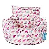 Lounge Pug®, Kindersessel Sitzsack, Sitzsack Kinder, Druck Kleines Pony