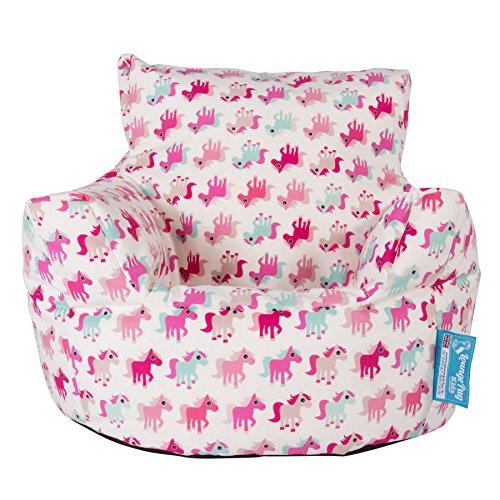Lounge Pug, Kindersessel Sitzsack, Sitzsack Kinder, Druck Kleines Pony