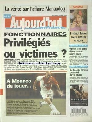 aujourdhui-en-france-no-1105-du-08-12-2004-la-verite-sur-laffaire-manaudou-fonctionnaires-privilegie