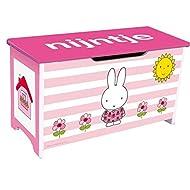 Rubo-Toys 0671012 Caja De almacenaje, diseño De Miffy, color rosa