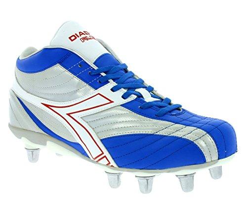Diadora Rugby Hi R SC 8 Schuhe Herren Rugby-Schuhe Sportschuhe Blau 145240 01 C1967