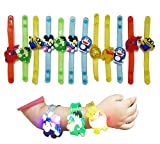 #3: WeKidz™ Cartoon Characters Bracelets Set of 12 with LED Lights Birthday Return Gifts for Kids