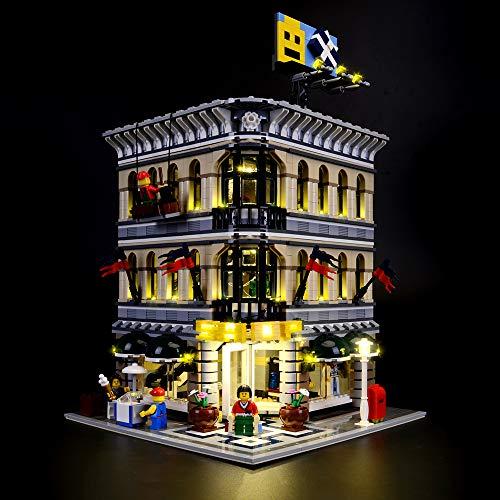 LIGHTAILING Conjunto de Luces (Creator Grand Emporium) Modelo de Construcción de Bloques - Kit de luz LED Compatible con Lego 10211 (NO Incluido en el Modelo)