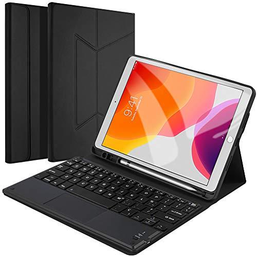 【Con Touchpad】Funda Teclado Tablet iPad 10.2 2019