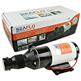 Seaflo ® Zerhackerpumpe 12 V Macerator Pumpe 45 L/min