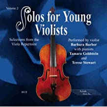 Solos for Young Violists, Vol 2: Selections from the Viola Repertoire