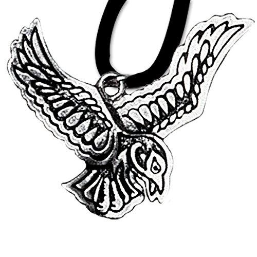 nhänger Keltisches Sternzeichen (25. Okt - 16. Nov) 925er Silber Schmuck Amulett Vision mit Lederhalsband Schmucksäckchen und Karte 14 ()