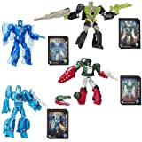 Transformers Generations Titans Return Deluxe Wave 1 Set of 4 Action Figure (Blurr,Skull Smasher,Hardhead,Scourge)