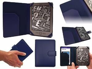 "Schutzhülle für Amazon Kindle in BLAU (Alias: SD Folio Case / Fall / Hülle / Tablet Case / Cover / Pouch) von G-HUB für 6"" (inch / zoll) Amazon Kindle 4 (Generation 4 / 2011 Release / Wi-Fi)"