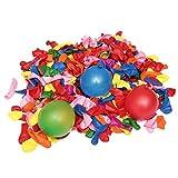 More Care 500st Wasserbomben Mega Pack Luftballons bunt Wasserbomben Luft