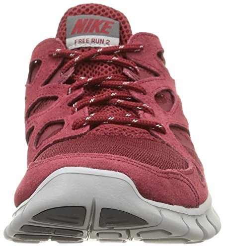 Nike Free Run 2, Chaussures de Running Entrainement Homme multicolore (Tm Red/Tm Rd-Flt Slvr-Drk Gry)