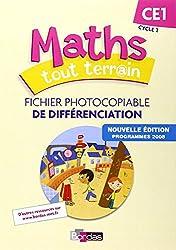 Maths tout terrain CE1  Fichier de différenciation (Éd.2012)
