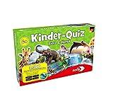 Noris 606011629 606011629-Kinderquiz Tiere & Natur, Quizspiel