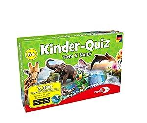"""Noris Spiele 606011629-""""Niños Quiz Animales & Natural Niños Parte"""