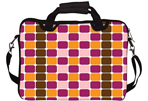 Red Zebra UK Laptoptasche mit indischem Muster, 33 cm (13 Zoll), Rot