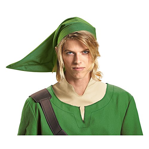 Disguise Men's Link Adult Hat, Green, One Size