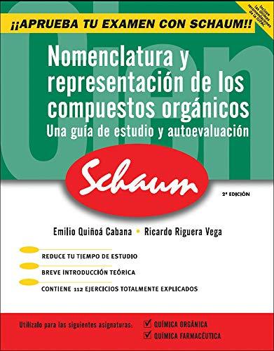 Nomenclatura y representaci}n de los compuestos org@nicos