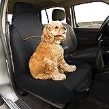 Kurgo 01190 Co-Pilot Bucket Seat Cover, Überzug für den Beifahrersitz, schwarz