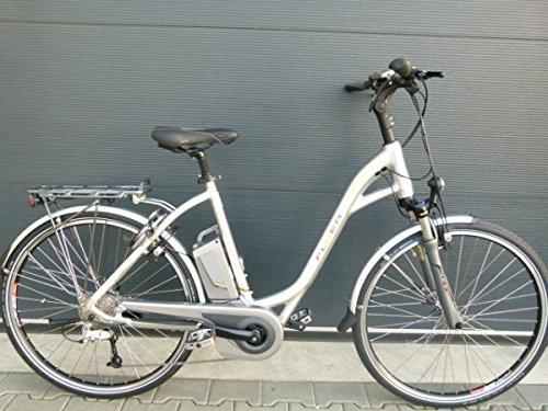 Preisvergleich Produktbild E-Bike Flyer T6.1 Tiefeinsteiger silber 12 AH Akku Freilauf Größe L 55 cm