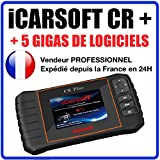 iCARSOFT CR PLUS + Valise Diagnostic MULTIMARQUES PRO - AUTOCOM / DELPHI / ELM