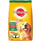 Pedigree Adult Dry Dog Food, Vegetarian, 3kg Pack