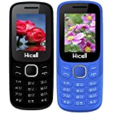Hicell C9 Metro (Combo Of Two MOBILES) Dual Sim Mobile Phone With Digital Camera And 1.8 Inch Screen (Green+NavyBlue)