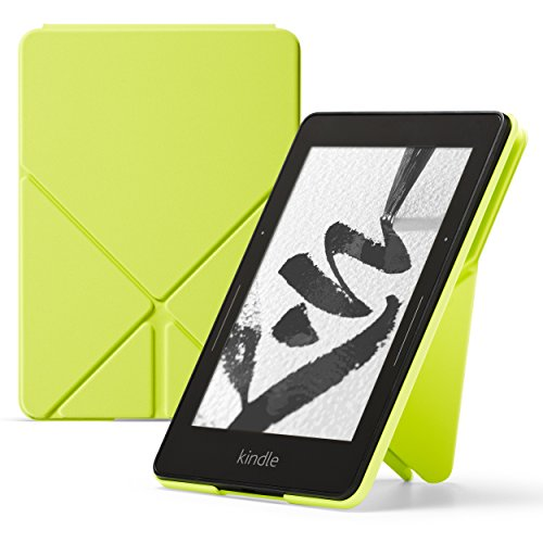 Amazon - Funda Origami para Kindle Voyage, Amarillo lima