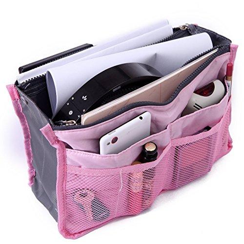 Magik 2 Pack Travel Insert Handbag Organiser - Pink