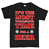 Most Wonderful Time of The Year Beer Christmas Xmas T shirt