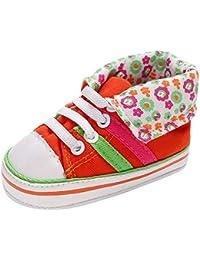 dd3969ae7 Amazon.es  Naranja - Zapatos para bebé   Zapatos  Zapatos y complementos