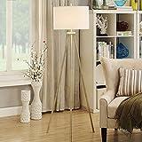 JU Stehlampe Stehlampe, Schlafzimmer Wohnzimmer Studie Vertikale Stehlampe Kreative Moderne Einfache Tischlampe Warme Stativ Lampe