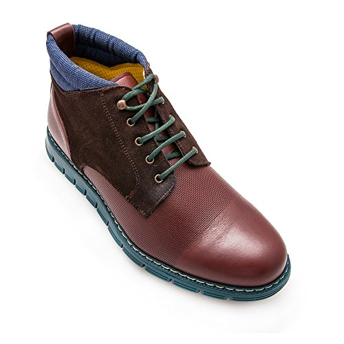 Zerimar Chaussures maroquinerie première qualité Creation tendance de la mode Doublure intérieur en cuir 100% Marron