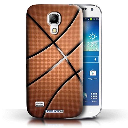 Coque en plastique pour Samsung Galaxy S4 Mini Collection Balle Sportif - Football Basket-ball