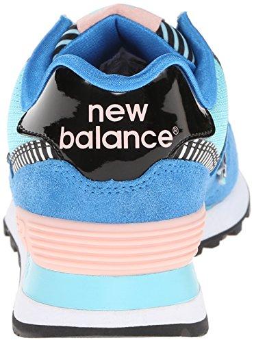 New Balance 574 Damen Sneakers Blau/Schwarz