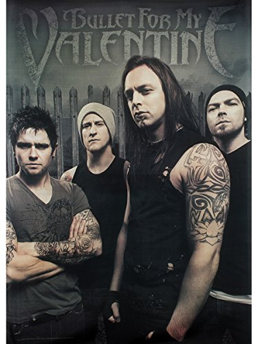 Bullet for My Valentine Bandiera in tessuto Band Photo 77 x 105 cm