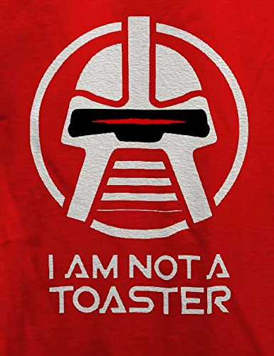 Cylon I Am Not A Toaster T-Shirt Rot