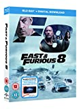 Fast & Furious 8 BD + digital download [Blu-ray] [2017] [Region Free] only £14.99 on Amazon