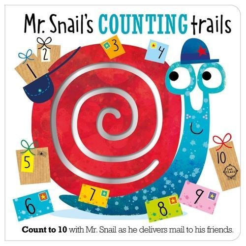 Mr. Snail's Counting Trails