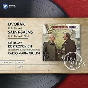 Dvorak - Saint-Saëns : Concertos pour violoncelle