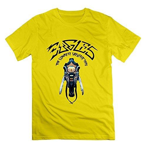 los-hombres-de-la-camiseta-divertida-la-banda-de-eagles-tamano-m-color-amarillo