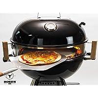 Moesta-BBQ Smokin\' PizzaRing Base circular de pizza para barbacoa esférica