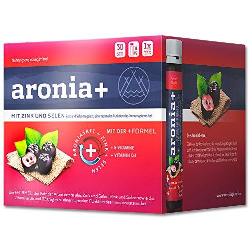aronia+ immun, 30x25 ml Trinkampullen -