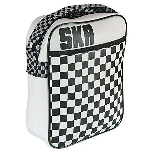 Ska Flight Bag. Retro Chequered Logo Cool Music Stylish Gift Idea