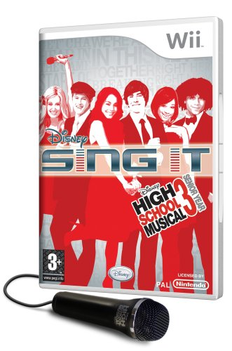 Disney Sing It: High School Musical 3 Senior Year inkl. Mikrofon [UK Import]