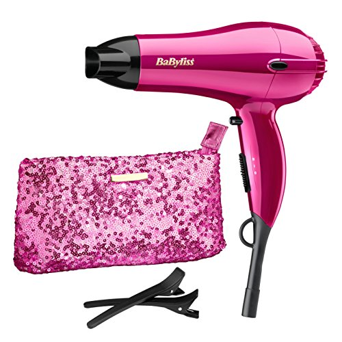 shimmer collection - 51Cf49vUaYL - BaByliss 2000 W Shimmer Collection Limited Edition Hair Dryer Set