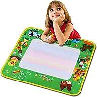 Cosway niños Aqua Doodle Dibujo juguetes educativos regalo bebé niños agua pintura alfombrilla de dibujo juguete junta de escritura con bolígrafo mágico