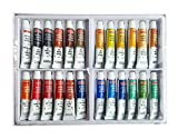 #10: Camlin Kokuyo Artist 5ml Water Color Tube - 24 Shades (Multicolor)