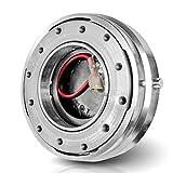 Quick Release/Back Off–Volante, Sport Volante fibbia a sgancio rapido in argento per Sparco, Momo, OMP Sport lenkraeder