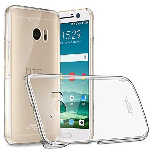 Imak HTC 10 (5,2 Zoll) Hülle, Transparentes Plastisch Hart Cover Case Kristall Klar Schutzhülle für HTC 10, Verarbeiten Dauerhaft Nano Coating [Anti-Kratzen] [Ultra dünne & Leicht] Htc Touch Pocket Pc